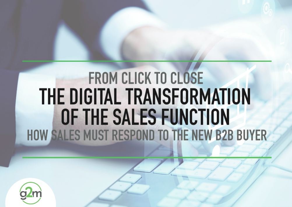 Digital Transformation of the Sales Function